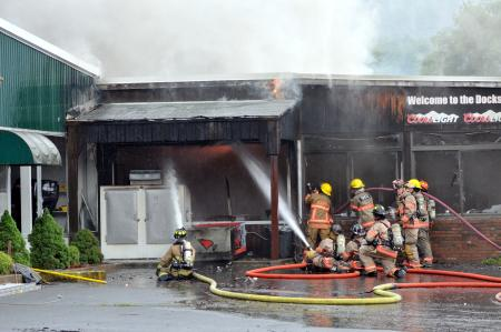 Brunelle's Vows To Rebuild After Fire
