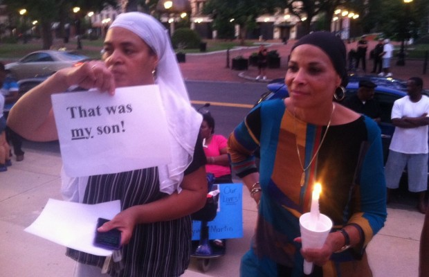 Peaceful Vigil for Trayvon Martin in Springfield