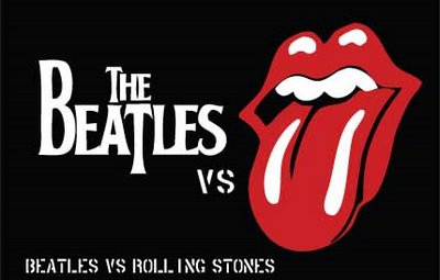 The Beatles versus The Rolling Stone