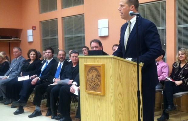Northampton Mayor Narkewicz Sworn Into Second Term