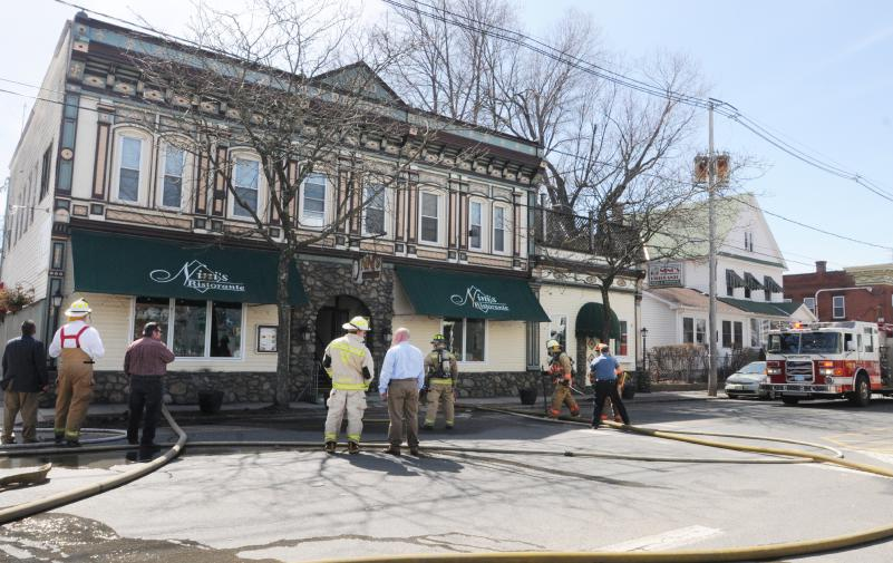 Nini's Damaged By Fire