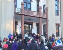 northampton city hall black lives matter mlk day 2016 city hall Stephanie Slysz